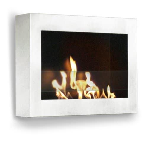Anywhere Fireplace SoHo Wall Mount Fireplaces White 0