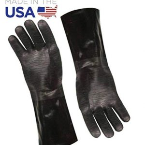 Artisan Griller Redefining Outdoor Cooking BBQ Heat Resistant Insulated Smoker Grill Fryer Oven Cooking Gloves BarbecueFryingGrilling Waterproof Oil Resistant 1 pair Size 10XL Fits Most 0