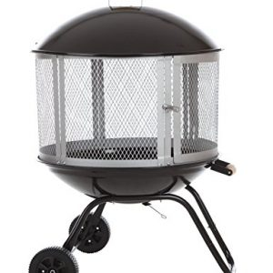Bessemer 01471 28 Patio Fireplace Black and Silver 0