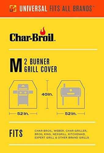 Char Broil Performance Grill Cover 2 Burner Medium 0 0
