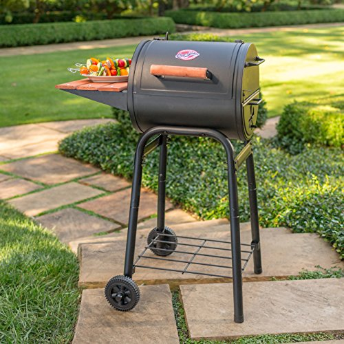 Char Griller E1515 Patio Pro Charcoal Grill Black 0 5