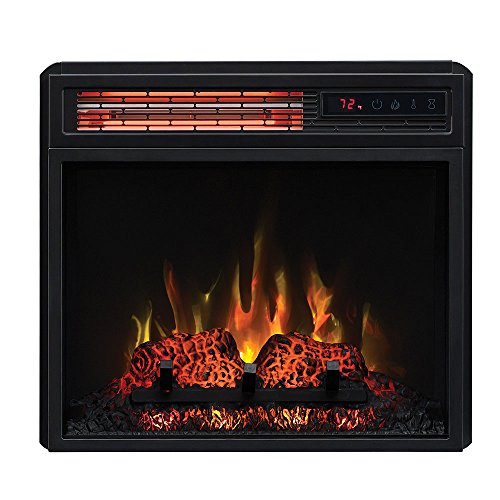 Classic Flame 18 in SpectraFire Infrared Electric Fireplace Insert 18II332FGL 0 0