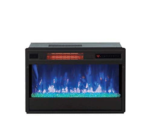 Classic Flame 26 in 3D SpectraFire Plus Infrared Fireplace Insert wGlass 26II342FGT 0 2