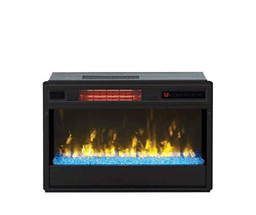 Classic Flame 26 in 3D SpectraFire Plus Infrared Fireplace Insert wGlass 26II342FGT 0 3