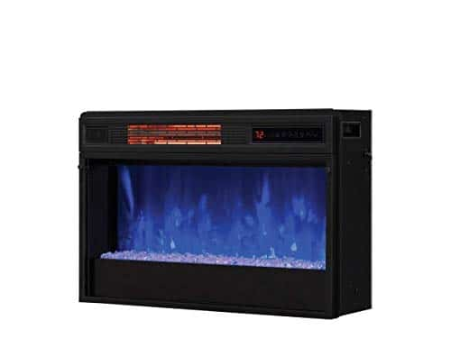 Classic Flame 26 in 3D SpectraFire Plus Infrared Fireplace Insert wGlass 26II342FGT 0 4