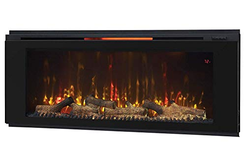 Classic Flame 48HF320FGT Helen 48 Black Wall Mounted Electric Fireplace 0 4