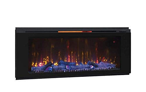 Classic Flame 48HF320FGT Helen 48 Black Wall Mounted Electric Fireplace 0