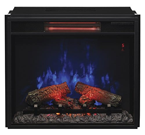 ClassicFlame 23II310GRA 23 Infrared Quartz Fireplace Insert with Safer Plug 0 2