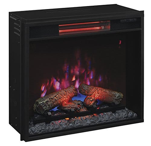 ClassicFlame 23II310GRA 23 Infrared Quartz Fireplace Insert with Safer Plug 0 3