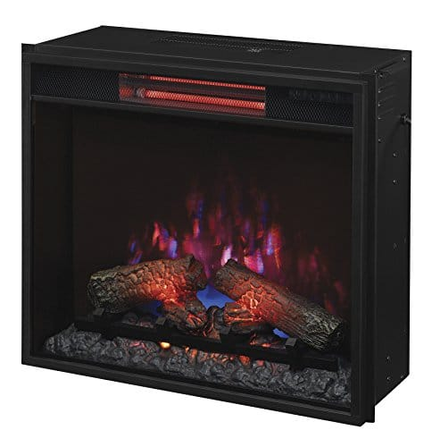 ClassicFlame 23II310GRA 23 Infrared Quartz Fireplace Insert with Safer Plug 0 4