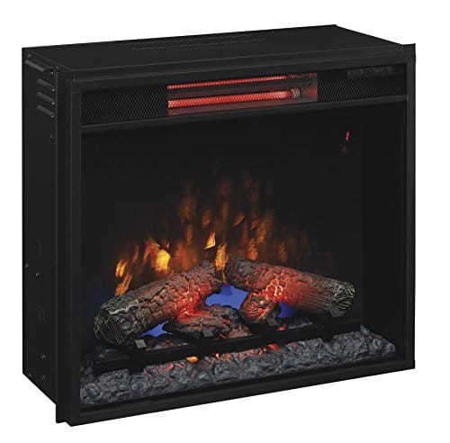 ClassicFlame 23II310GRA 23 Infrared Quartz Fireplace Insert with Safer Plug 0