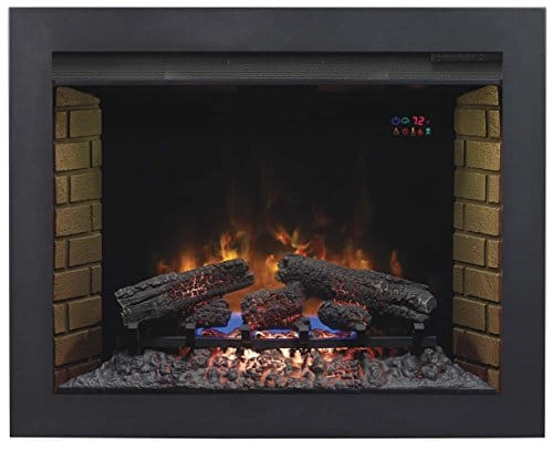 ClassicFlame BBKIT 33 33 Flush Mount Trim Kit for use with In Wall Electric Fireplace Insert 0 0