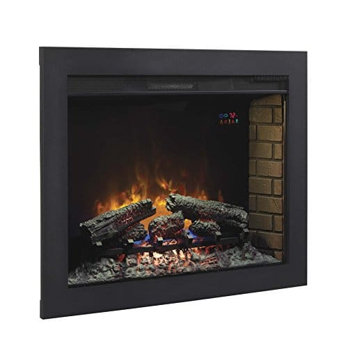 ClassicFlame BBKIT 33 33 Flush Mount Trim Kit for use with In Wall Electric Fireplace Insert 0 2