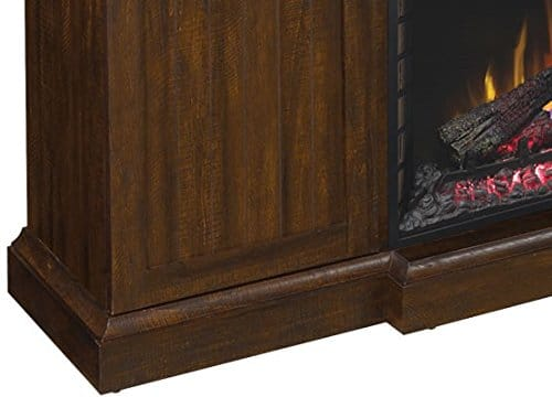 ClassicFlame Manning Infrared Electric Fireplace Entertainment Center Saw Cut Espresso 28MM9954 PD01 0 4