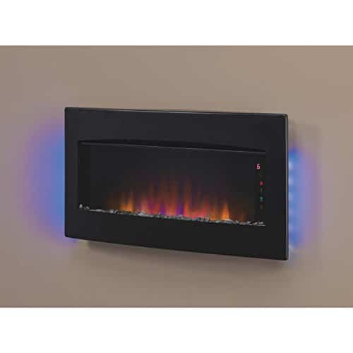 ClassicFlame Serendipity Infrared Wall Hanging Fireplace Heater 0 1