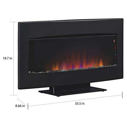 ClassicFlame Serendipity Infrared Wall Hanging Fireplace Heater 0 3