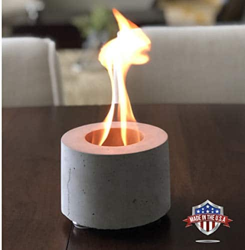 Colsen Tabletop Rubbing Alcohol Fireplace Indoor Outdoor Fire Pit Portable Fire Concrete Bowl Pot Fireplace Fire In Style Fireplaces Stoves Fire Pits