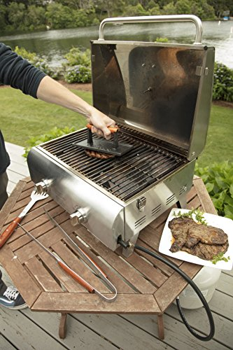 Cuisinart CGPR 221 Cast Iron Grill Press Wood Handle 0 0