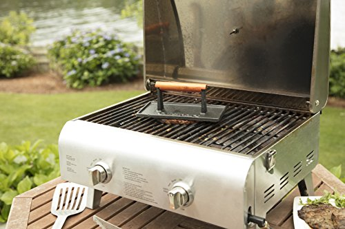 Cuisinart CGPR 221 Cast Iron Grill Press Wood Handle 0 1