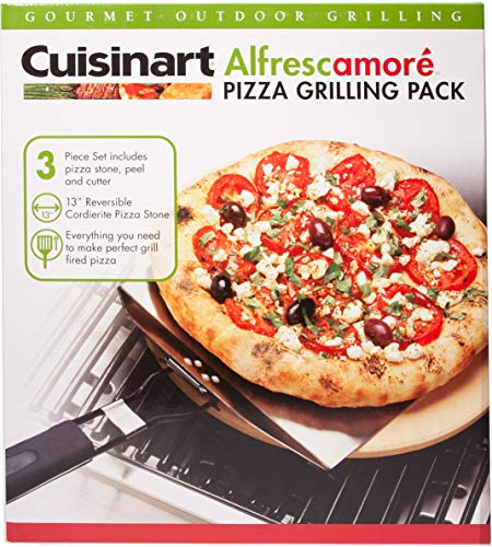 Cuisinart CPS 445 3 Piece Pizza Grilling Set Stainless Steel 0 3