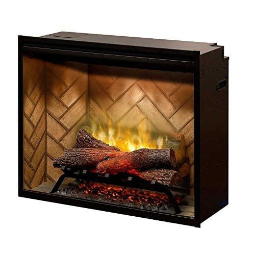 DIMPLEX NORTH AMERICA REVILLUSION Electric Fireplace Black 0