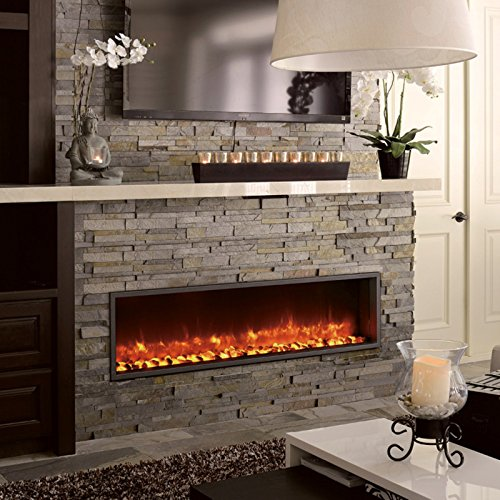 DYNASTY DY BT63 Built in Linear Electric Fireplace 63 Inch 0 0