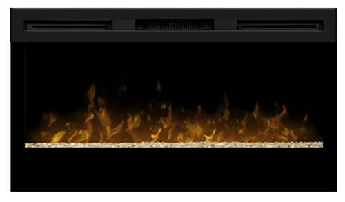 Dimplex BLF34 Wickson Wall Mounted Indoor Fireplace Black 0 0