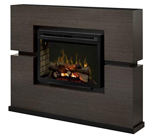 Dimplex Linwood Mantel Electric Fireplace with Logs 0
