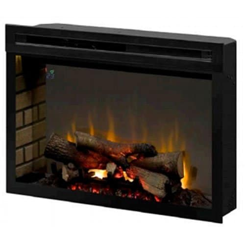 Dimplex PF2325HL Multi Fire Xd 25 Inch Electric Firebox with Faux Logs Bed Black 0