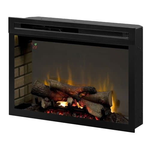 Dimplex PF3033HL Multi Fire XD 33 Electric Firebox with Faux Logs Bed Black 0
