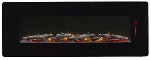 Dimplex Winslow Electric Fireplace 48 INCH Black 0 0