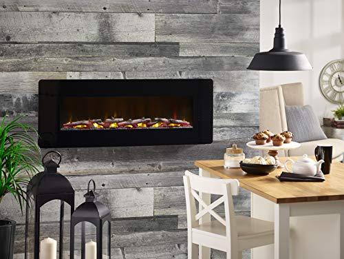 Dimplex Winslow Electric Fireplace 48 INCH Black 0 3