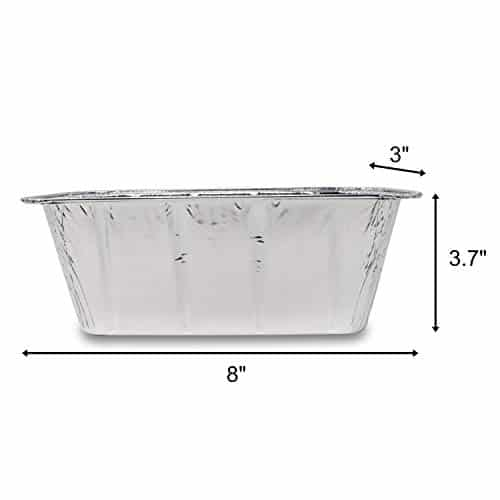 Fig Leaf 30 Pack Blackstone Grills Compatible Drip Pans for 36 and 28 Inch Griddle l Rear Grease Cup Liners l Heavy Duty Disposable Aluminum Foil 0 1