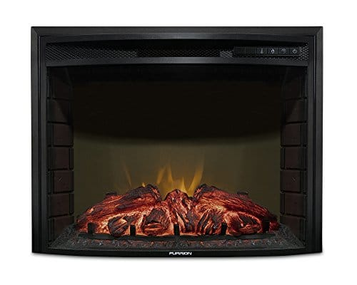 Furrion 26 Curved Glass Electric Fireplace 0