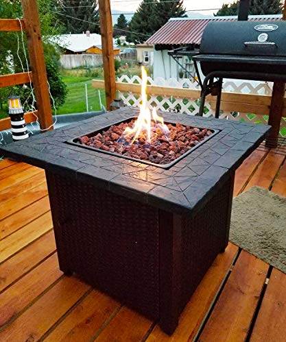 Gaspro 10 Pound Lava Rocks 3 5 Inch Large Lava Rock For Fire Pit Gas Fireplace Propane Or Natural Gas All Natural Fire In Style Fireplaces Stoves Fire Pits