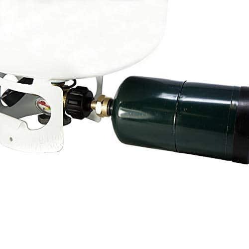 GasOne 50180 Refill Adapter for 1lb Propane Tanks Fits 20lb Tanks Black 0 5