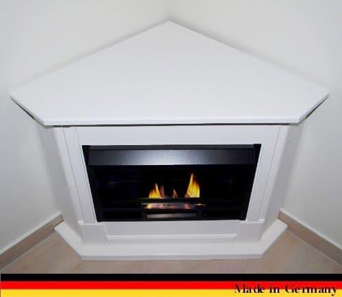Gel Ethanol Fire Places Ethanol Corner Fireplace Model Moskau White 0 0
