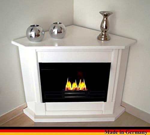 Gel Ethanol Fire Places Ethanol Corner Fireplace Model Moskau White 0 1