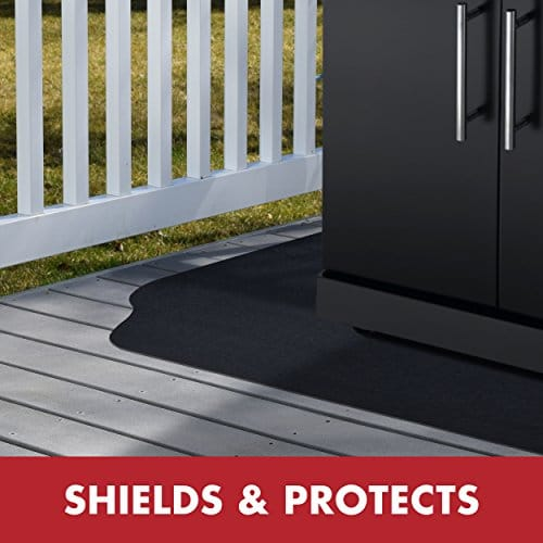 GrillTex Under the Grill Protective Deck and Patio Mat 39 x 72 inches 0 2