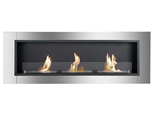 IGNIS Recessed Wall Ventless Bio Ethanol Fireplace Ardella 0 0