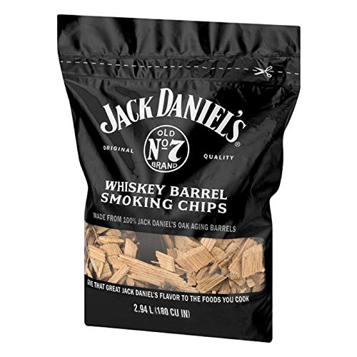 Jack Daniels Tennessee Whiskey Barrel Smoking Chips 180 CU IN 0 1