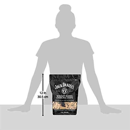 Jack Daniels Tennessee Whiskey Barrel Smoking Chips 180 CU IN 0 3