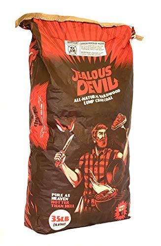 Jealous Devil All Natural Hardwood Lump Charcoal 35lb Paper Bag 0