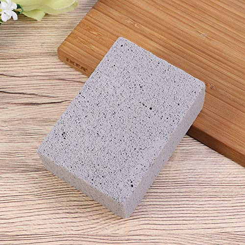 Kelfuoya Elaziy Grill Griddle Cleaning Brick BlockEcological Grill Cleaning Brick De Scaling Cleaning Stone for Removing Stains BBQ Cleaning4 Pack 0 5