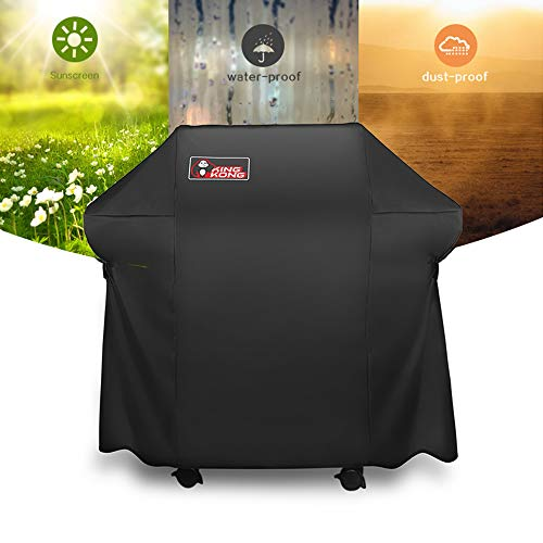 Kingkong Grill Cover 7106 Cover for Weber Spirit 200 and 300 Series Gas Grill Including Grill BrushTongs and Thermometer 0 4