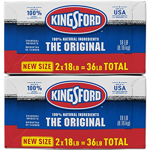 Kingsford 4 Pack Original Charcoal Briquettes BBQ Charcoal for Grilling 18 Pounds Each 0 1