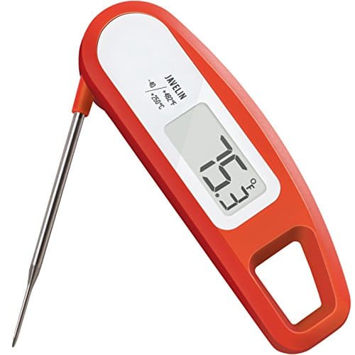 Lavatools PT12 Javelin Digital Instant Read Meat Thermometer for Kitchen Food Cooking Grill BBQ Smoker Candy Home Brewing Coffee and Oil Deep Frying Chipotle 0