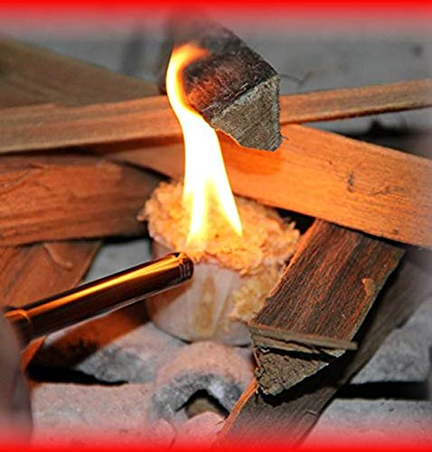 Light A Fire 100 All Natural Starter Pods 10 15 Minute Burn for BBQ campfire charcoal fire pit wood pellet stove 30 Waterproof for IndoorOutdoor 0 2