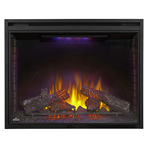 Napoleon Ascent NEFB40H Built in Electric Fireplace 40 Inch Black 0 3