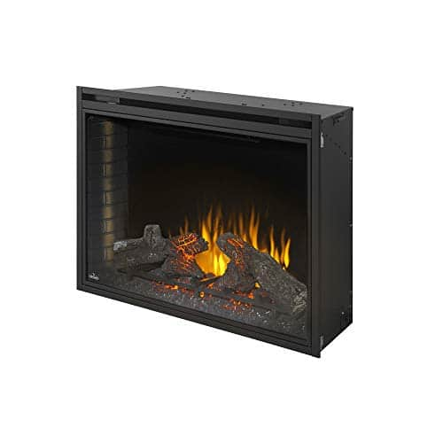 Napoleon Ascent NEFB40H Built in Electric Fireplace 40 Inch Black 0 4